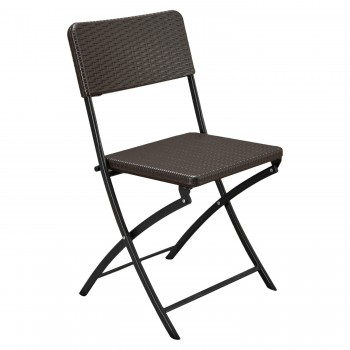 Brown Folding Chair 47 x 50...
