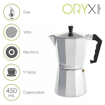 9 Cup Aluminium Coffee...