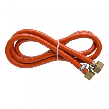 Hose with fittings for...