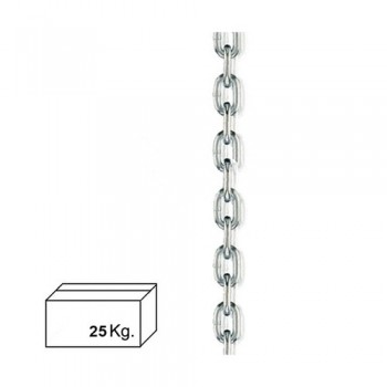 Zinc Plated Chain  4 mm....