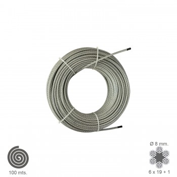 Galvanized Cable  8 mm....