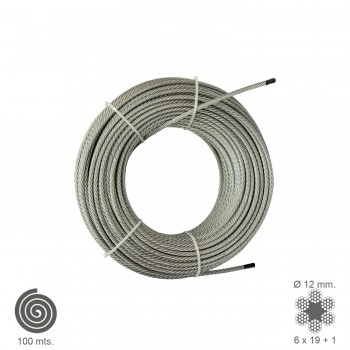 Galvanised Cable  12 mm....