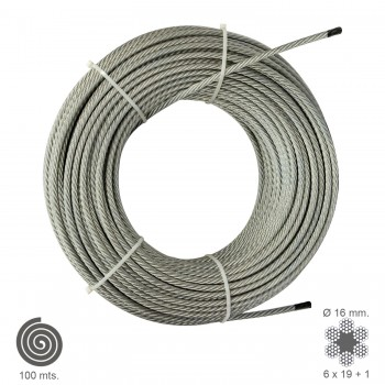 Galvanised Cable  16  mm....