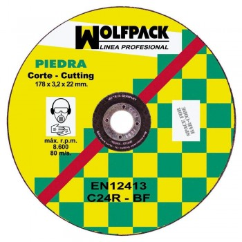 Wolfpack Stone Disc...