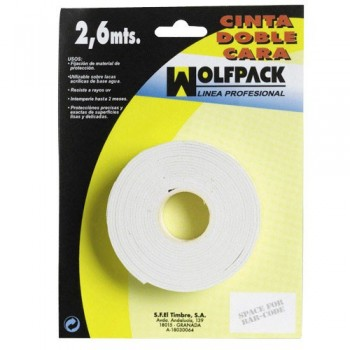 Double Sided Tape  2.6 m. x...