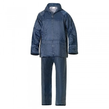 Waterproof Blue Nylon Rain...