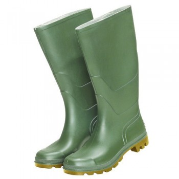 Tall Green Rubber Boots No. 39