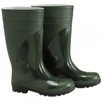 Tall Green Rubber Safety...