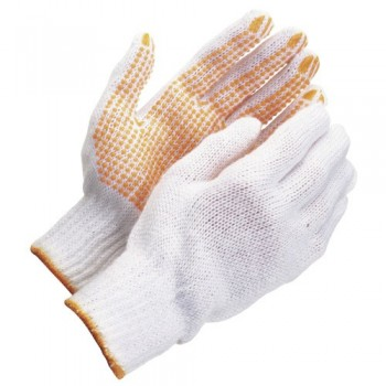 Cotton Gloves with Yellow...