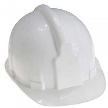 White Hard Hats for Works