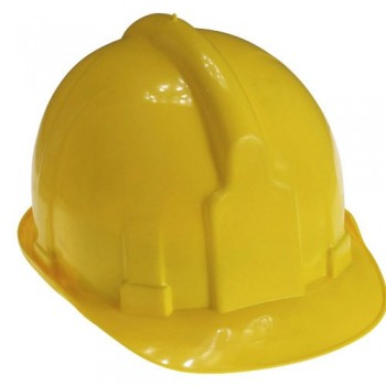 Yellow Hard Hats for Works