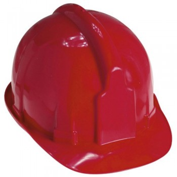 Red Hard Hats for Works