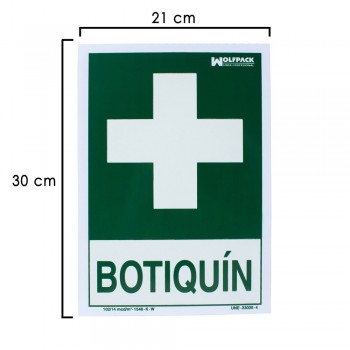 First Aid Kit Sign 30x21 cm.