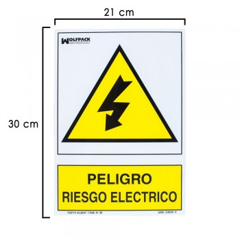 Electrical Hazard Sign...