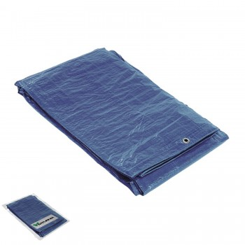 Waterproof Blue Canvas With...