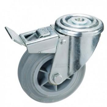 Low Black Rubber Boots No. 36