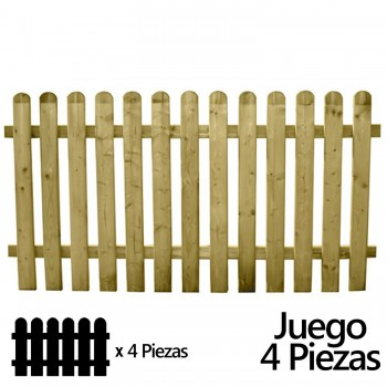 Set of Wooden Garden Fences...