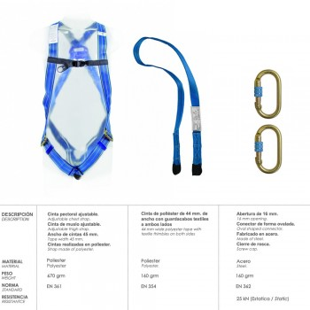 Fall Arrest Harness Safety...