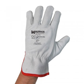 FLOR Leather Gloves 8? With...