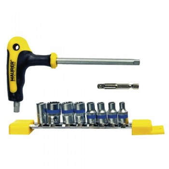 Socket Set with ?T? Handle...