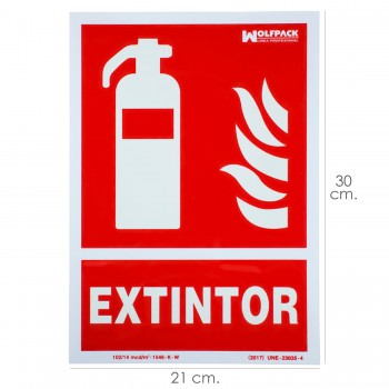 Fire Extinguisher Sign...
