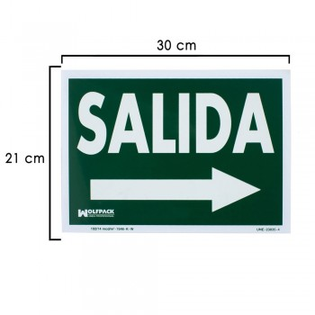Exit to the Right Sign...