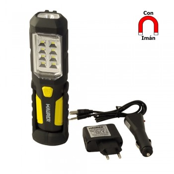 Rechargeable 8 LED + 1 LED...