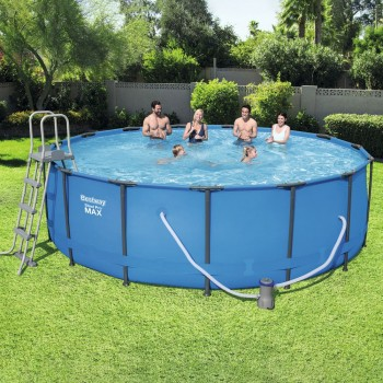 Round Swimming Pool With...
