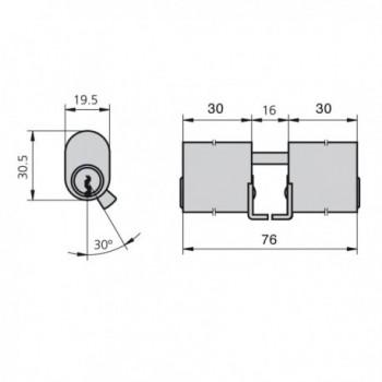 Wooden mouse trap 2 holes Ø...