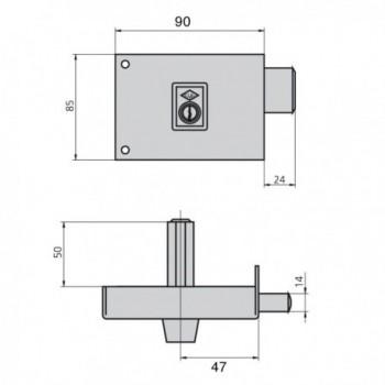 Tesa lock 2111/you / 4e