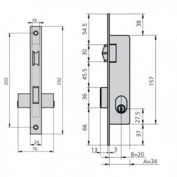 Tesa Lock 2002-hl/30