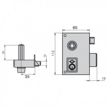 Tesa Lock 2030-hl/60