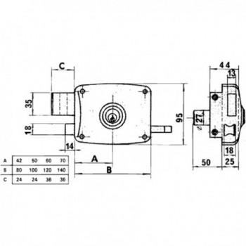 Azbe Lock   56-a/hpr/60/...