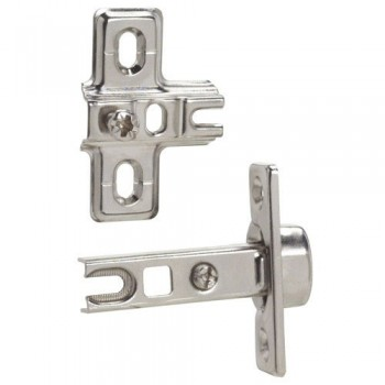 Straight Cup Hinge 26 mm.