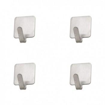 Matte Silver Metal Number...