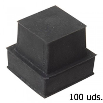 Square Rubber End Piece...