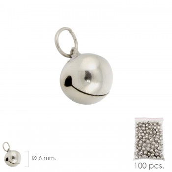 Nickel Plated Bell  6 mm....