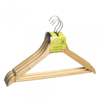 Hanger Oryx Wooden Curved...