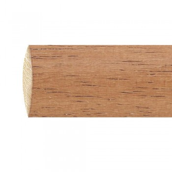 Smooth wooden bar 1.5...