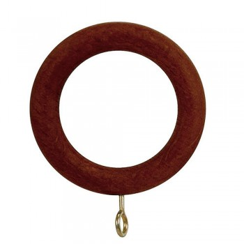 Smooth Wooden Ring with...