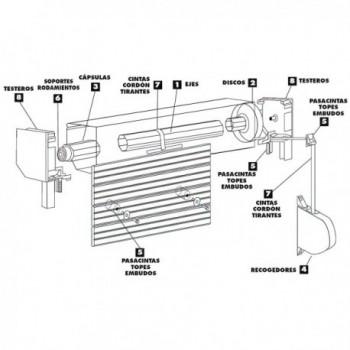 Sealing ring for Magefesa...
