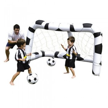 Football Goal Posts With 2...
