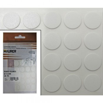 Adhesives White Screw Cover...